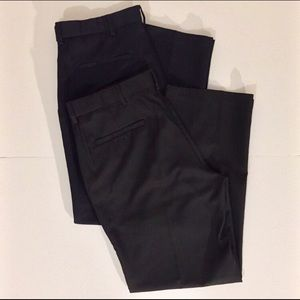 Haggar Mens Dress Pants (Set of 2)